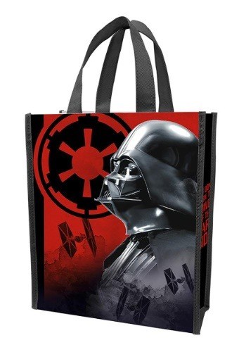 Star Wars Recycled Shopper Tote Darth Vader Treat Bag