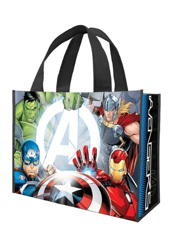 Marvel Avengers Large Recycled Shopper Tote Treat Bag