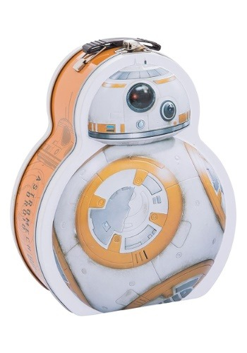 Star Wars Lunch Box BB-8 Shaped Tin Tote