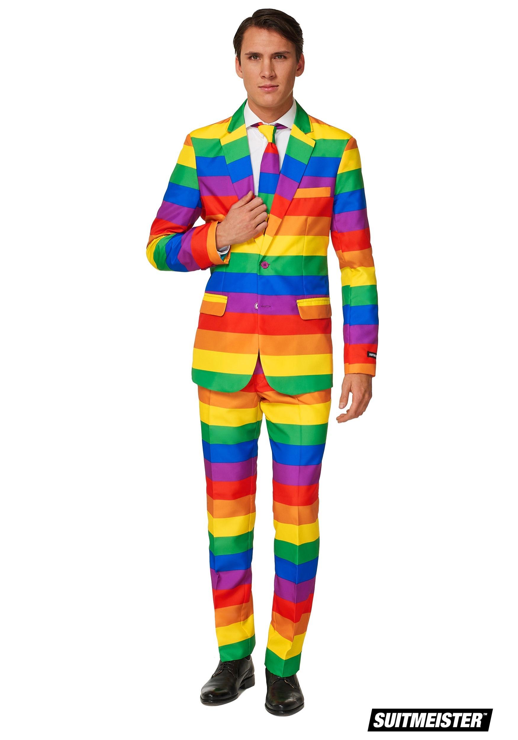 9a73165c4351 Men s Rainbow Suitmeister Suit Costume