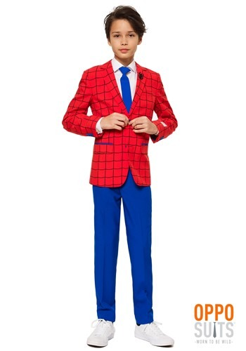 Click Here to buy Opposuits Boys Spider-Man Suit from HalloweenCostumes, CDN Funds