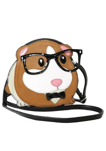 Click Here to buy Shoulder Crossbody Nerdy Guinea Pig Bag from HalloweenCostumes, CDN Funds