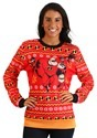 Adult Incredibles Red Ugly Christmas Sweater alt3