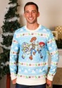 Toy Story Light Blue Ugly Christmas Sweater for Adults Alt