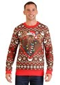 Star Wars Chewbacca Lights Christmas Sweater Alt 2