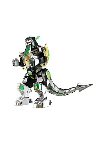 Click Here to buy Power Rangers: Legacy Dragonzord Die-Cast Metal Action Figure from HalloweenCostumes, CDN Funds