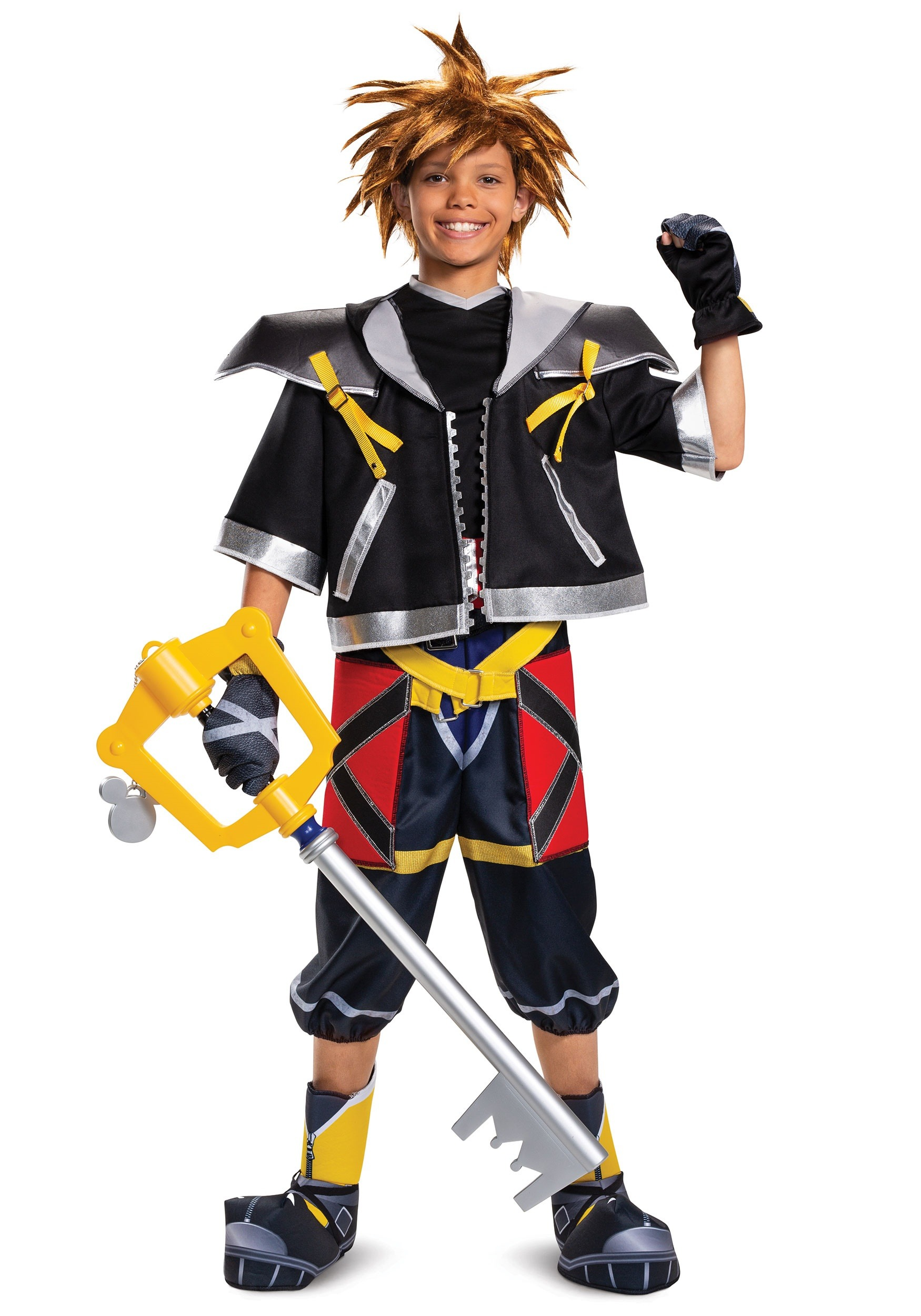 Kingdom Hearts Teen Sora Deluxe Costume  sc 1 st  Halloween Costumes & Kingdom Hearts Sora Deluxe Costume for Teens