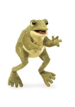 "Funny Frog 12"" Folkmanis Puppet"