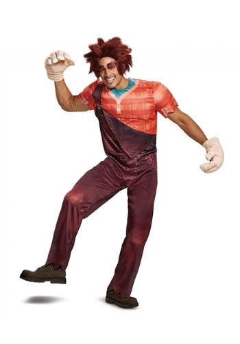 Deluxe Wreck It Ralph 2 Adult Ralph Costume