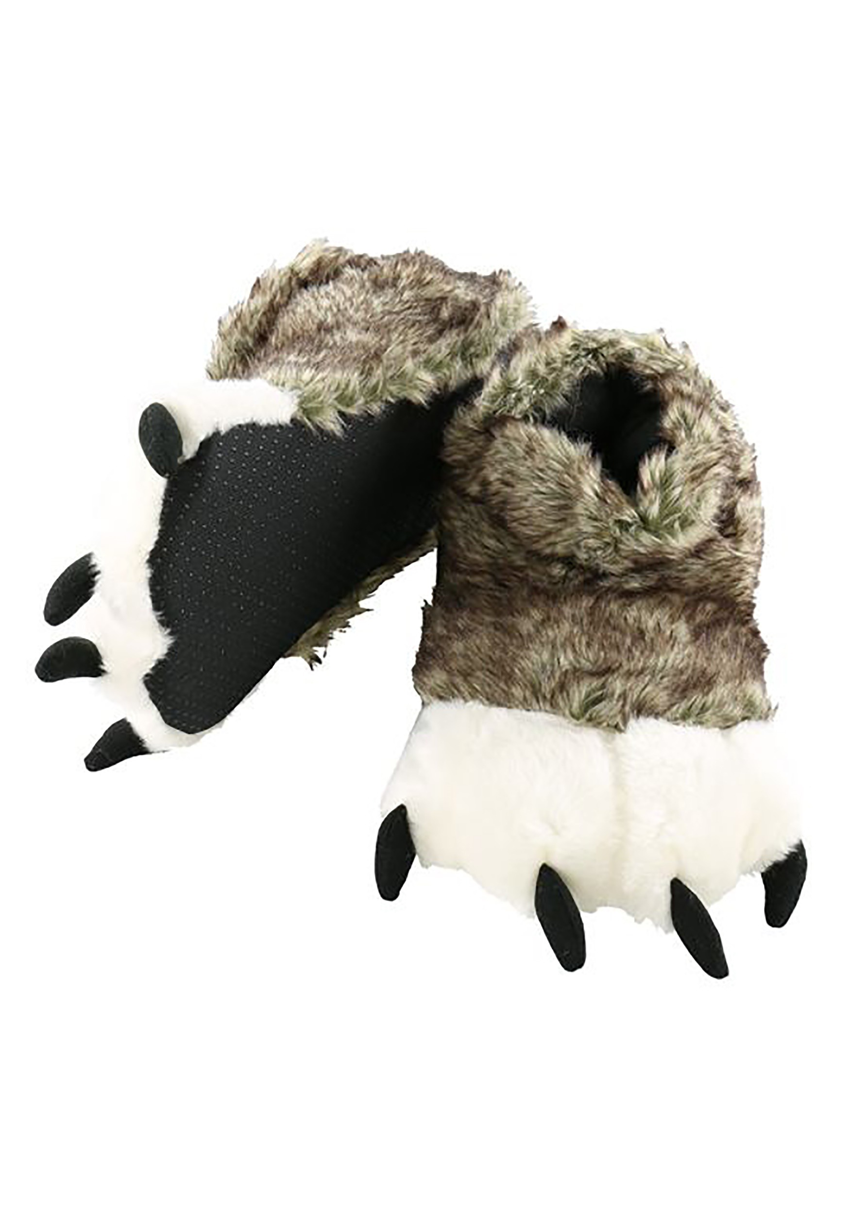 c1d8a7798ee6 Wolf Paw Slippers for Adults