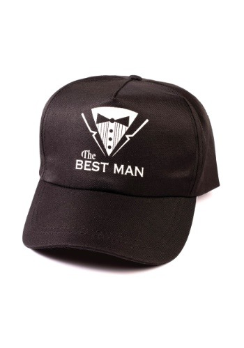 The Best Man Bachelor Baseball Hat is perfect for the bachelor party you've been planning! #best