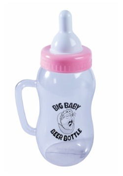 Baby Beer Bottle Pink