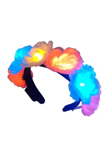 Flashing Flower Headband