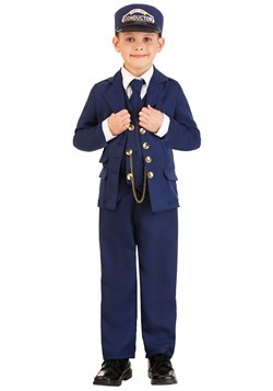 North Pole Train Conductor Costume Child