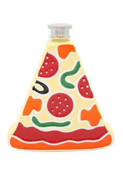 Metal Pizza Flask 5 ounce