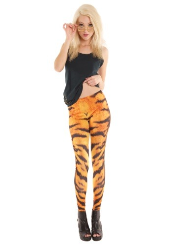 Tiger Print Women's Leggings