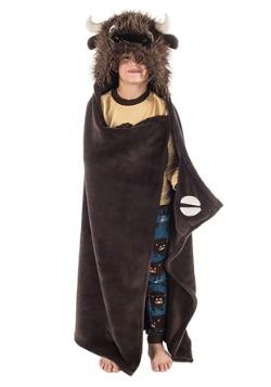 Buffalo Critter Kids Blanket by Lazy One