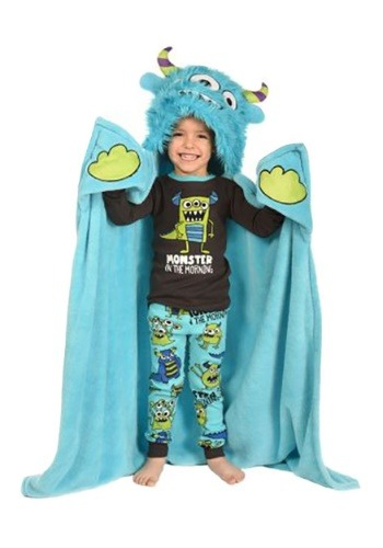 Click Here to buy Monster Critter Lazy One Kids Blanket from HalloweenCostumes, CDN Funds