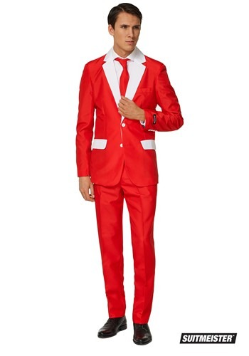 Mens Santa Outfit Suitmiester
