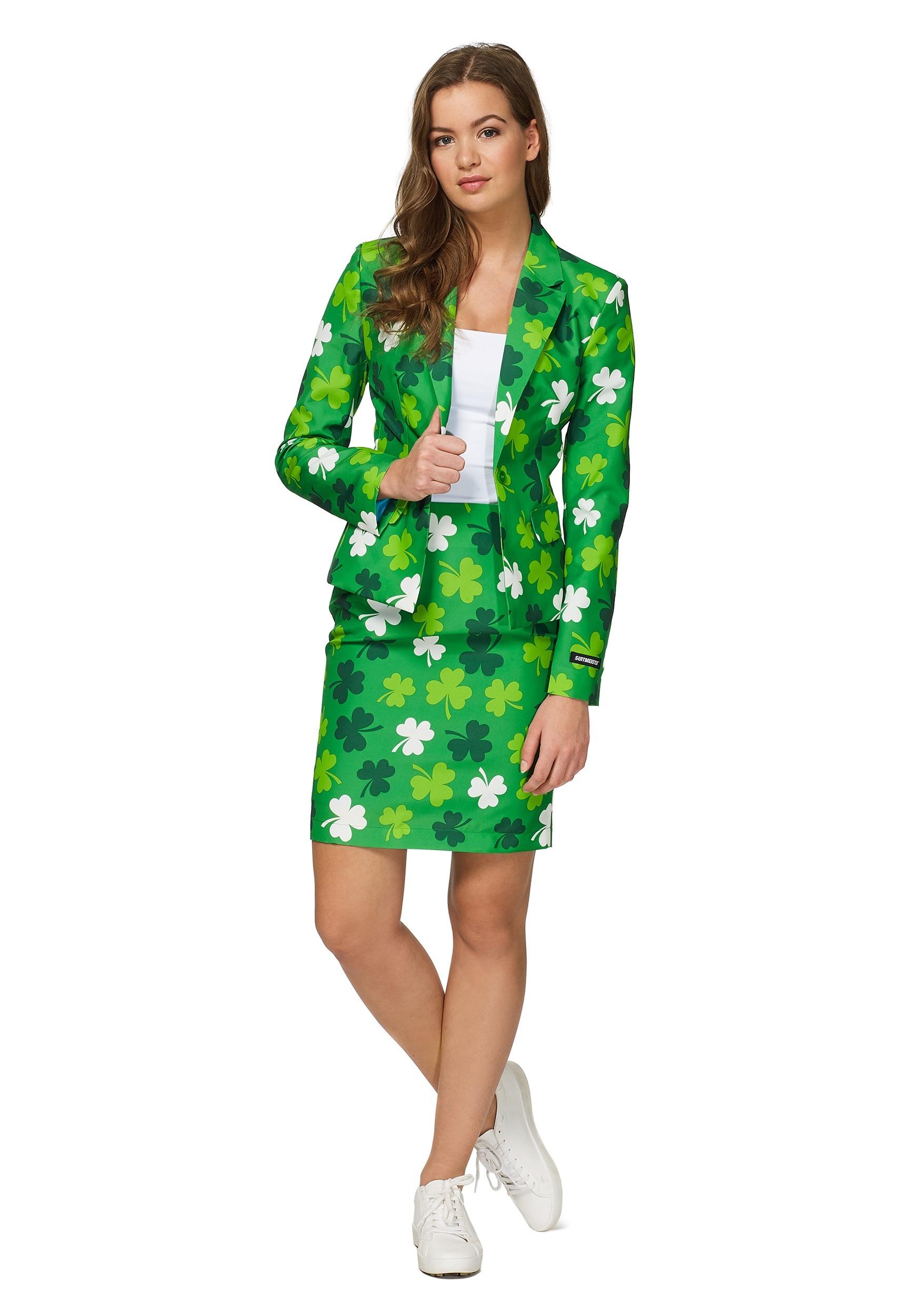 f1b5ef8b9 Womens Green St. Patricks Day Suitmiester