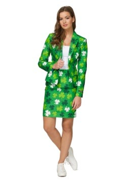 Womens St. Patricks Day Suitmiester