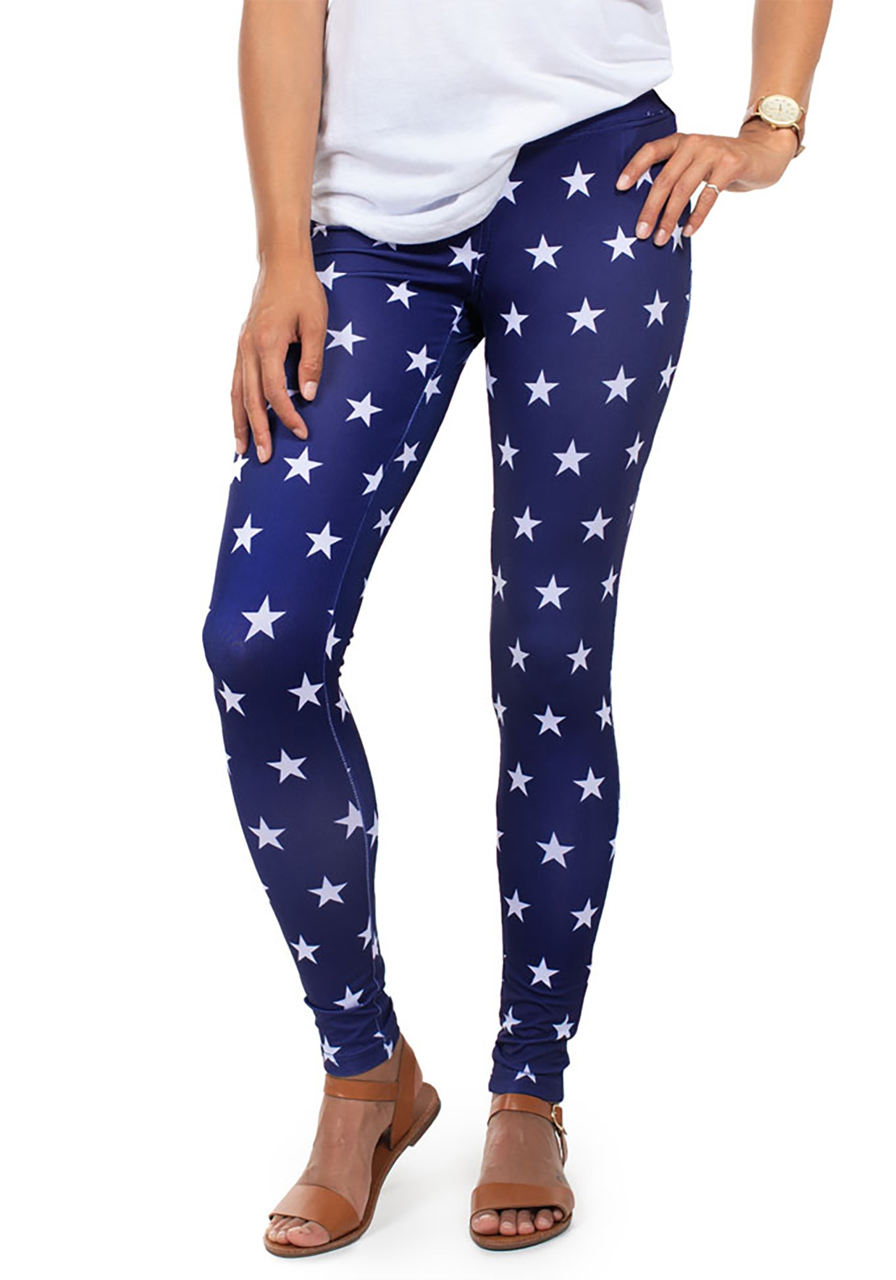 3d24bee1a08 Tipsy Elves Liberty Star Leggings for Women