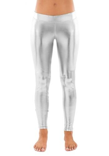 Tipsy Elves Womens Silver Leggings