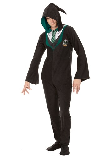 Harry Potter Slytherin Adult Union Suit Update Main