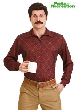 Plus Size Parks and Recreation Ron Swanson Costume