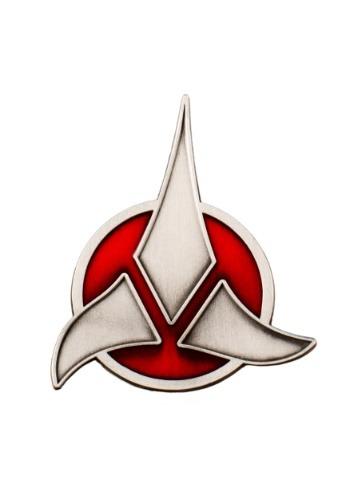 Click Here to buy Star Treks Klingon Emblem Badge from HalloweenCostumes, CDN Funds