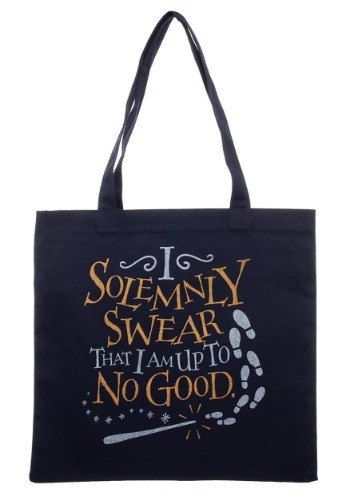 I Solemnly Swear Canvas Tote Harry Potter