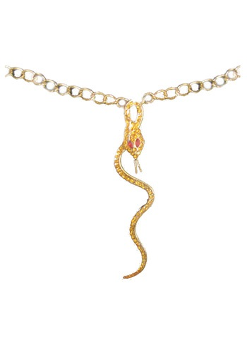 Egyptian Snake Necklace By: Funny Fashions for the 2015 Costume season.