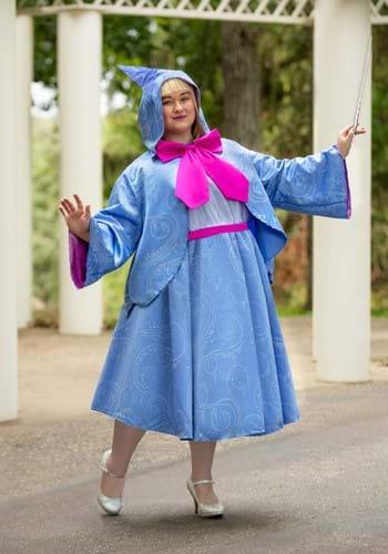 Cinderella Fairy Godmother Plus Size Costume2