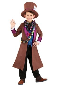Child's Wacky Mad Hatter Costume