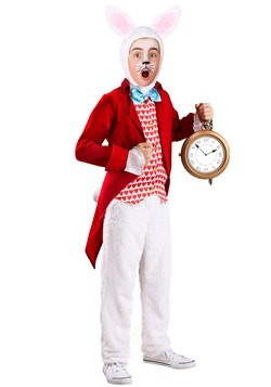 Child's Dignified White Rabbit Costume
