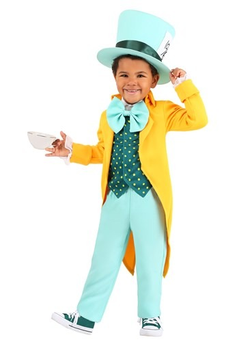 Toddler's Bright Mad Hatter Costume