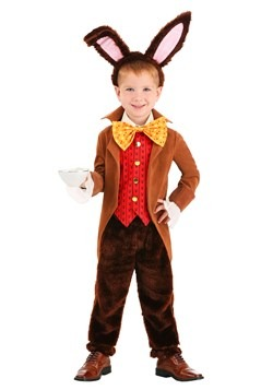 Toddler's Tea Time March Hare Costume Update 1