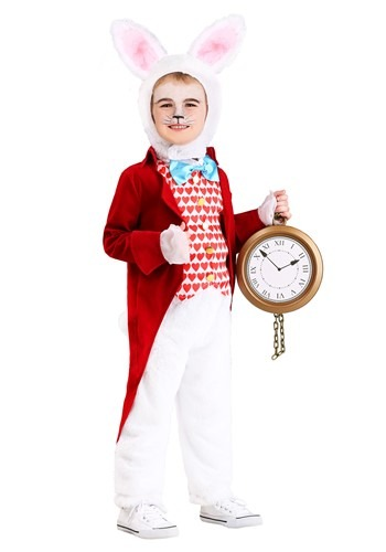 Toddler's White Rabbit Costume
