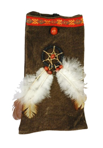 Store the spirit of your ancestors in this phenomenal Native American Costume Pouch. If you listen closely you can almost hear the spirits say wear me with a Native American Costume. #purse