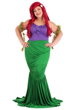 Plus Size Women's Undersea Mermaid Costume