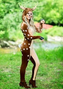 Plus Size Women's Fawn Costume new