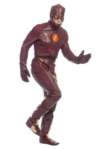 Mens Premium The Flash Costume