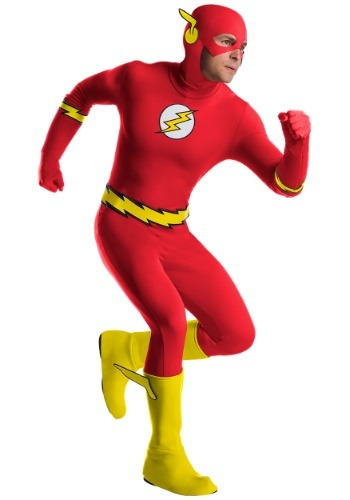 Click Here to buy The Flash Classic Mens Costume from HalloweenCostumes, CDN Funds