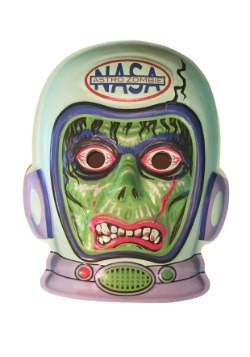 """Glow-In-The-Dark Astronaut Zombie Vacuform 23"""" Wall Hanger D"""
