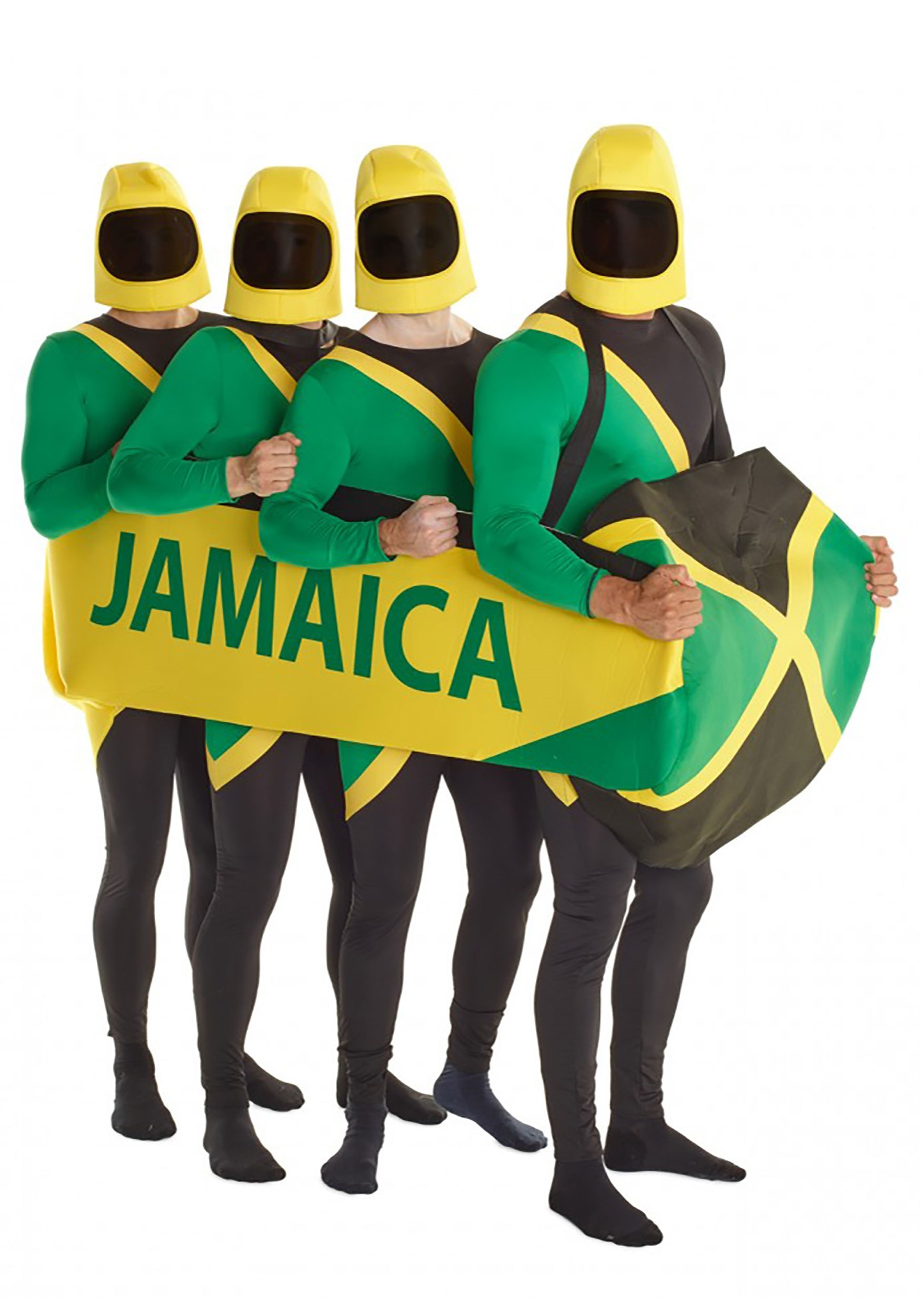 Jamaican Costume Prop Bobsled Team
