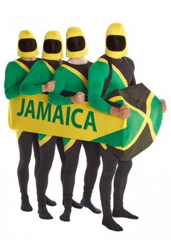 Jamaican Bobsled Team Costume Prop