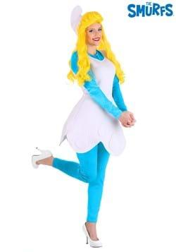 Smurfette Smurfs Blue Cartoon Character Fancy Dress Up Halloween Child Costume