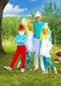 The Smurfs Women's Adult Smurf Smurfette Costume Alt 2