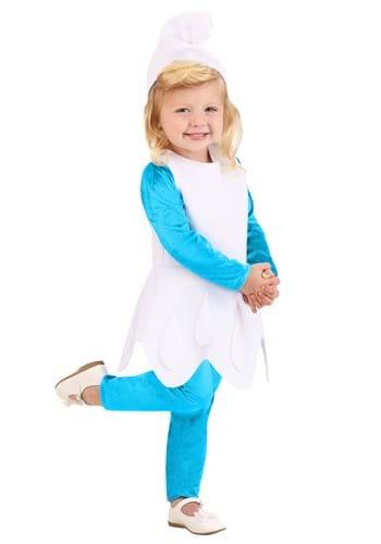 The Smurfs Toddler Girls Smurfette Costume