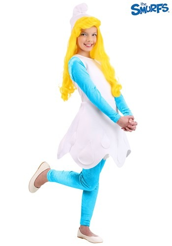 The Smurfs Girls Smurfette Costume